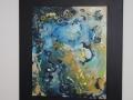 Abstraktion in Blau
