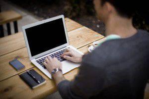 richtig am Laptop arbeiten