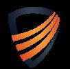 Das Logo der Biteno GmbH: Das Schild symbolisiert den Schutz der Daten
