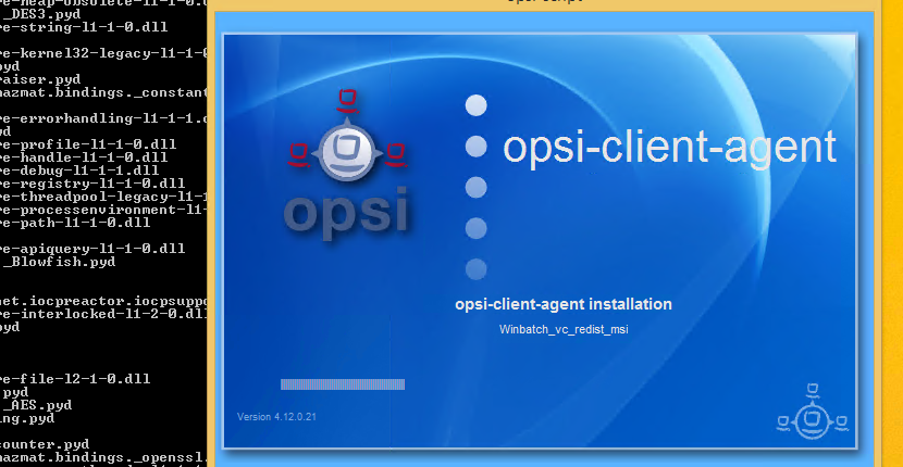 OPSI Client auf dem PC installieren