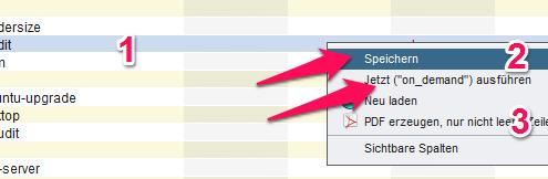 Schritt 2 der Software-Zuweisung: Speicher und Starten