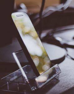 Bild von Smartphone Screen