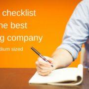 web hosting company checklist
