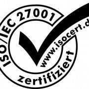 Die astiga GmbH ist nach ISO 27001 zertifiziert