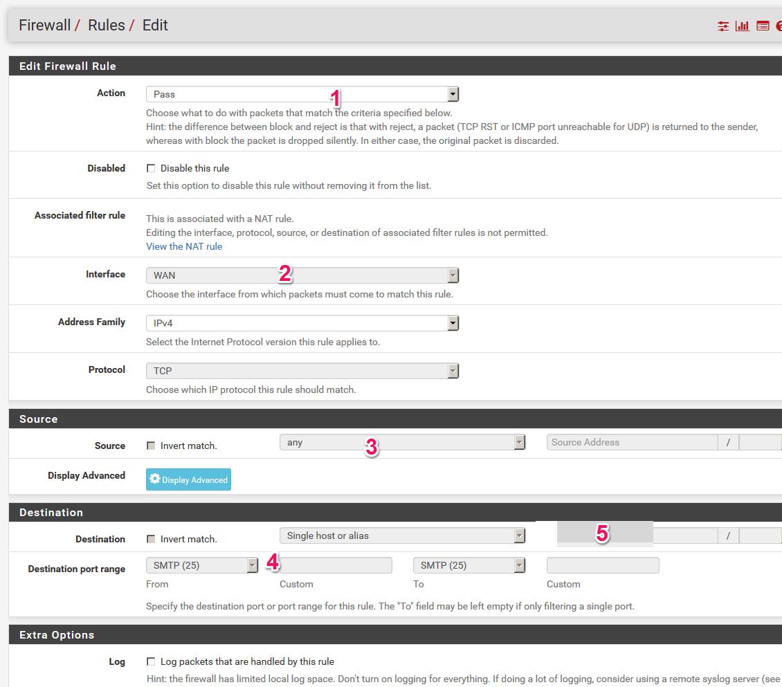pfSense Firewall installieren und konfigurieren - Schritt