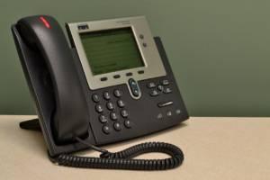Herkömmliche Telefonanlage