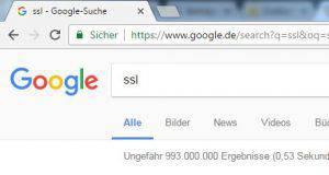 SSL im Browser- Beispiel
