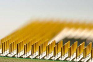 So sieht ein im PC verbaute CPU von innen aus.