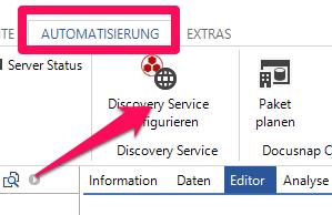 Discovery Service erstellen